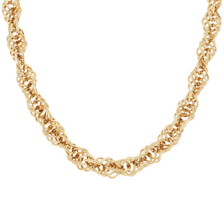 "14K Gold 20"" Interlocking Dimensional Necklace, 23.5g"