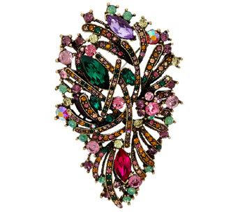 Joan Rivers Crystal Jubilee Brooch - J321582