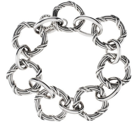 Peter Thomas Roth Sterling Signature Classic Circle Bracelet