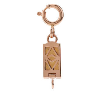 Click Secure Self-Locking Magnetic Clasp 14K Rose Gold - J268483