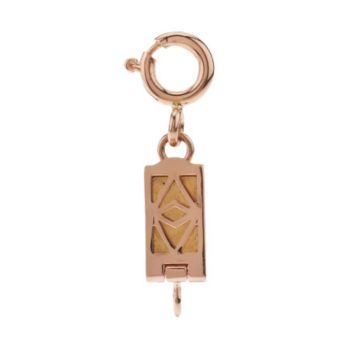 Click Secure Self-Locking Rectangle Magnetic Clasp 14K Rose Gold