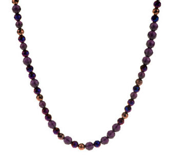 Linea by Louis Dell'Olio Long Faceted Bead Necklace - J273583