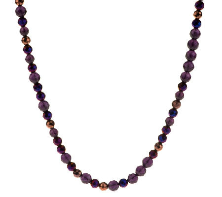 Linea by Louis Dell'Olio Long Faceted Bead Necklace