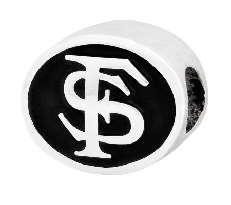 Sterling Silver Florida State University Bead