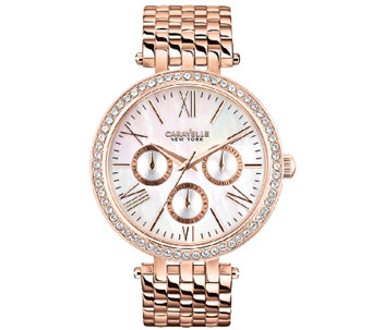 Caravelle New York Women's Rosetone Watch - J336883