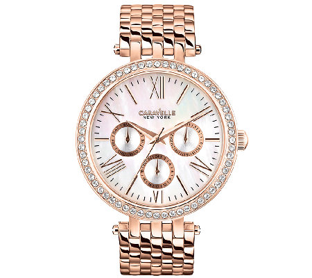 Caravelle New York Women's Rosetone Watch