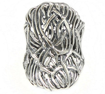 Sterling Bold Saddle Ring by Or Paz - J341583