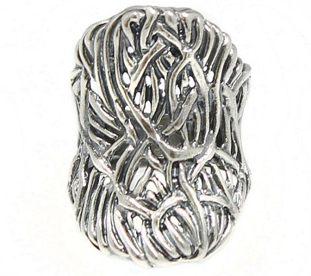 Sterling Bold Saddle Ring by Or Paz
