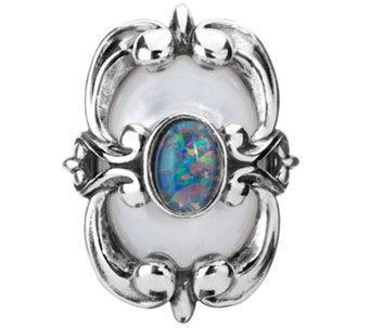 Carolyn Pollack Opal and Mother of Pearl Magnetic Insert - J341783