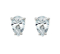 Pear Diamond Stud Earrings, 14K, 1/2cttw, by Affinity - J316884