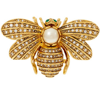 """As Is"" Joan Rivers Forever in Our Memory Bee Pin - J327884"