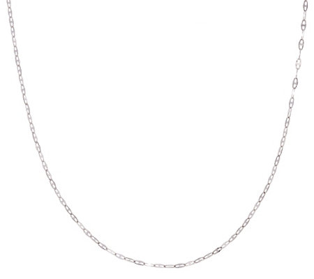 """As Is"" 14K Gold 18"" Polished Marine Link Chain Necklace, 1.2g"