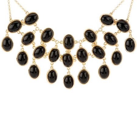 Susan Graver Reversible Statement Necklace