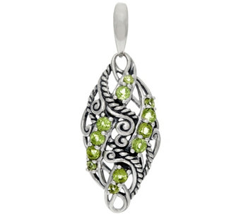 Carolyn Pollack Sterling Silver Signature Gemstone Enhancer - J329585