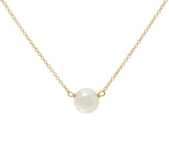 Dogeared 14K Gold Filled Cultured Freshwater Pearl Necklace - J333785