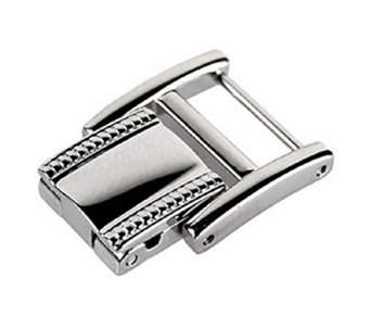 Ecclissi Facets Stainless Steel Watch Clasp - J340585