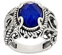 Carolyn Pollack Sterling Signature Gemstone Doublet Ring - J384985
