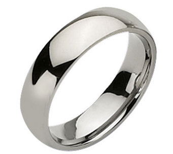 Titanium 6mm Polished Ring - J109986