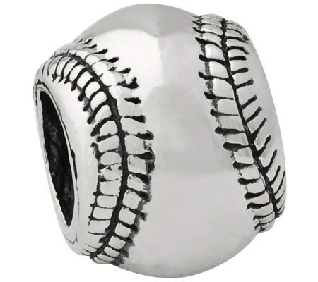 Prerogatives Sterling Baseball Bead