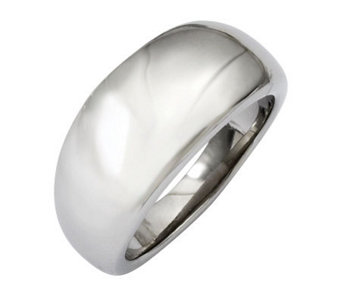 Stainless Steel Polished Ring - J310686