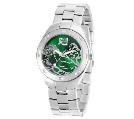 Marvel Men's Hulk Stainless Steel Watch