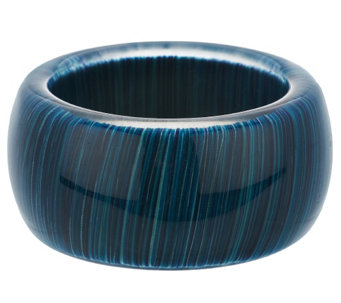 """As Is"" Attitudes by Renee Multi-Color Acrylic Bangle - J326586"