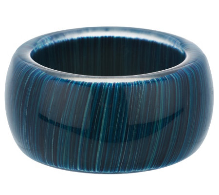 """As Is"" Attitudes by Renee Multi-Color Acrylic Bangle"