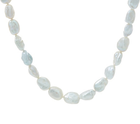 "Honora Cultured Pearl Keshi Sterling 18"" Necklace"