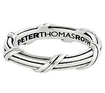 Peter Thomas Roth Sterling Ribbon & Reed Signature Band Ring - J382286