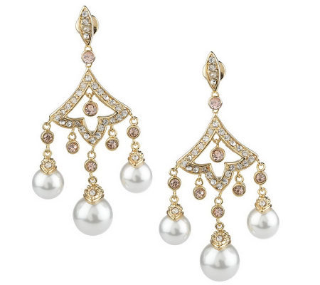 Priscilla Presley Graceland Chandelier Earrings