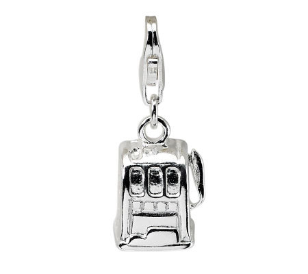 Amore La Vita Sterling Dimensional Slot MachineCharm