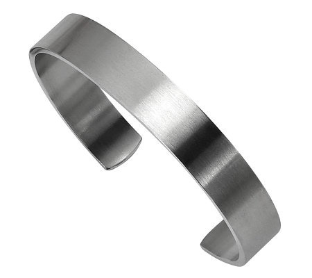 Forza Brushed Cuff Bangle