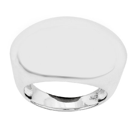 Sterling Polished Dome Ring