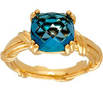 Peter Thomas Roth 18K Gold & London Blue Topaz Gemstone Ring - J347887