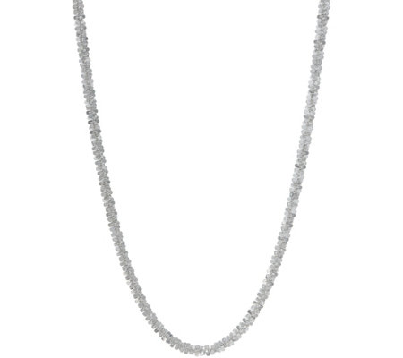 "UltraFine Silver 24"" Polished Chain Necklace 14.0g"