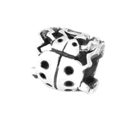 Prerogatives Sterling Ladybug Bead