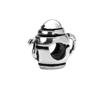 Prerogatives Sterling Teapot Bead