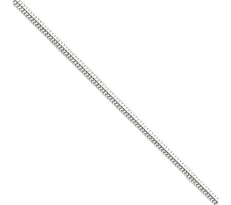 Sterling Snake Chain Anklet