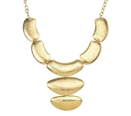 Collar Necklace with Removable Drop