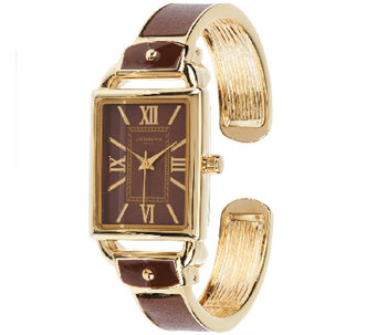 Liz Claiborne New York Bangle Watch with Tonal Dial - J318088