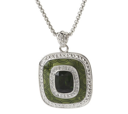 Jacqueline Kennedy Green Eye Necklace