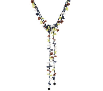 Attitudes by Renee Adjustable Candy Lariat Necklace - J327889
