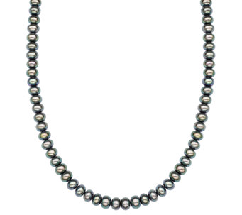"Honora Sterling 7.0mm - 8.0mm Cultured Pearl 18"" Necklace - J336689"