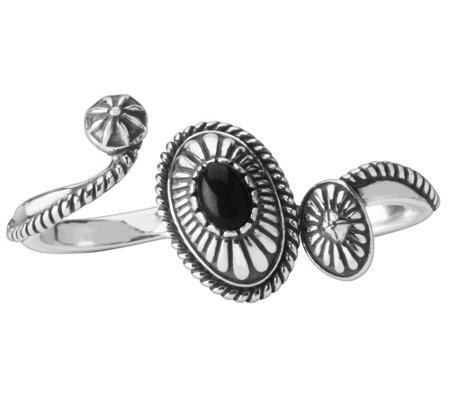 Sterling Silver Double Concha Ring by AmericanWest