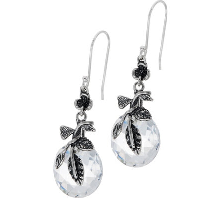 Or Paz Sterling Silver 3.4 Ct. Crystal Quartz Earrings