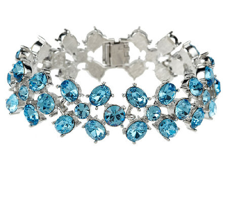 """As Is"" Isaac Mizrahi Live! Bloom Bracelet"