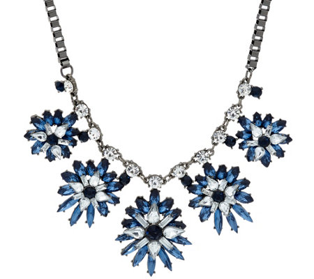 Susan Graver Starburst Statement Necklace