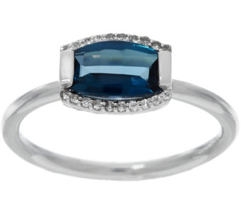 """As Is"" Jane Taylor Barrel Cut Gemstone Sterling Ring, 1.40 cttw - J333590"