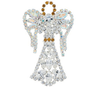 Crystal Holiday Motif Pin - J334290