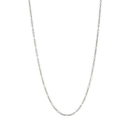 "Carolyn Pollack Signature Sterling Silver 36"" Chain Necklace 13.0g"